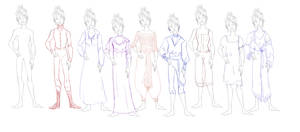 Outfit line up