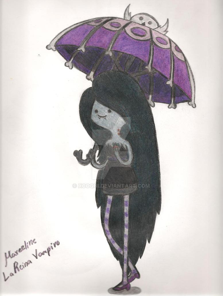 Marceline La Reina Vampiro by Xcoqui