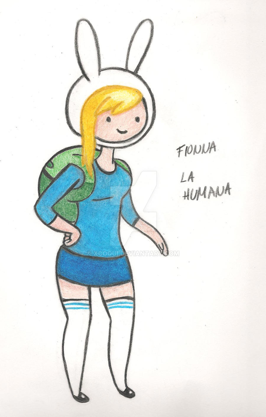 Fionna La Humana by Xcoqui