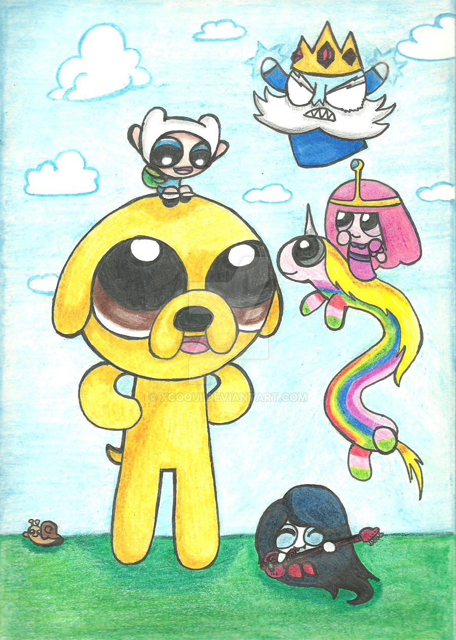 Powerpuff Time by Xcoqui