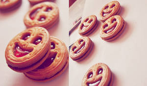 smiley cookies by artahh