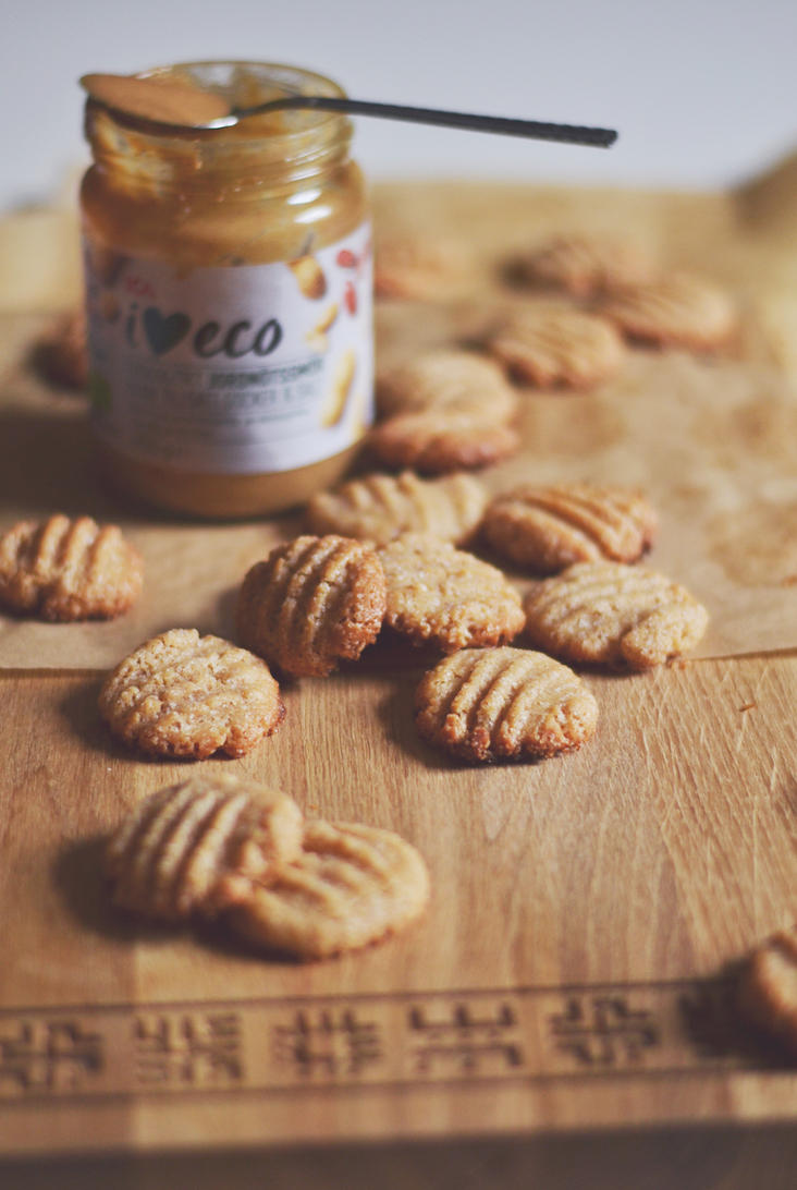 Peanutbutter cookies by artahh