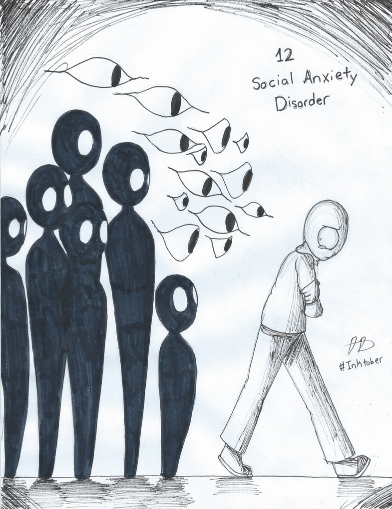 living with social anxiety disorder The defining feature of social anxiety disorder, also called social phobia, is intense anxiety or fear of being judged, negatively evaluated, or rejected in a social or performance situation.