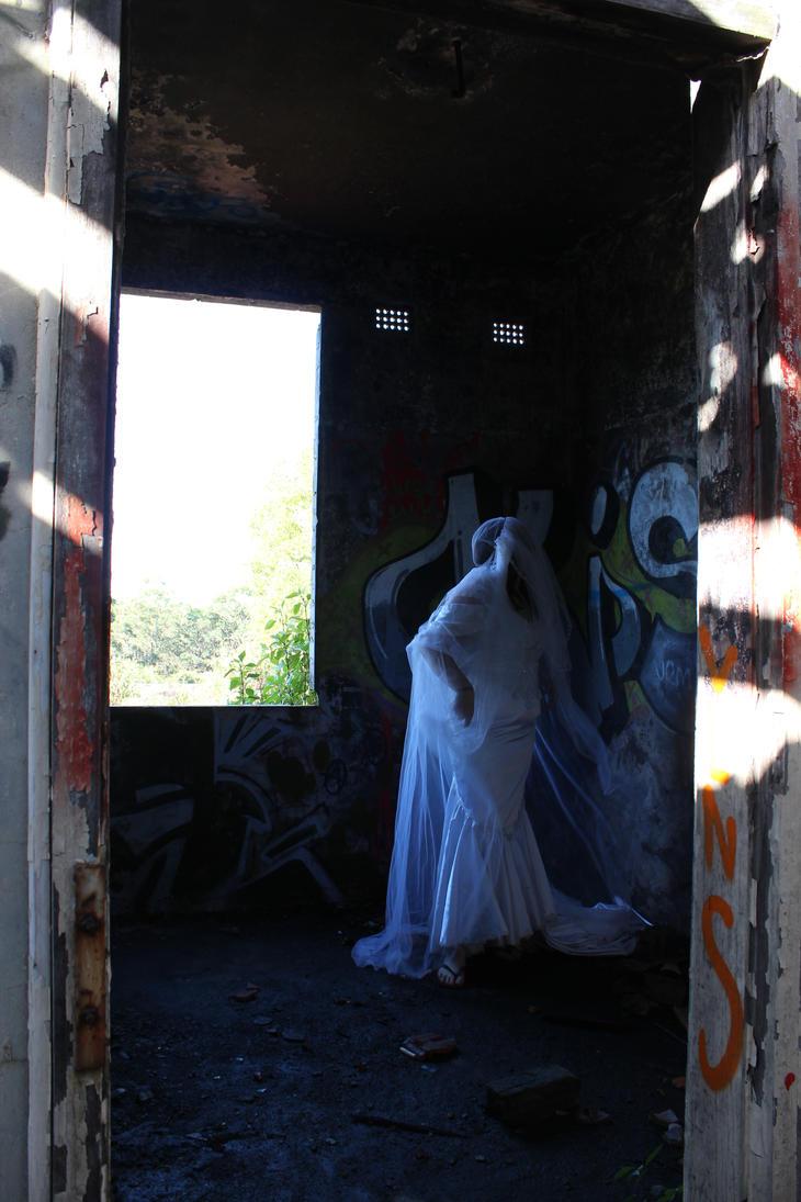 Abandoned Mental Hospital by MoonstarMia
