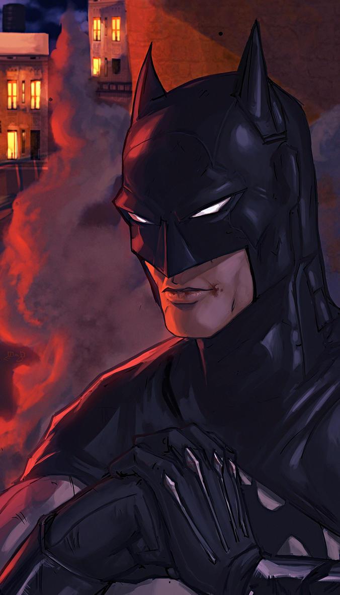 The Batman: Crimson Night by Mad-Ed