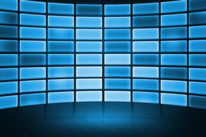 Free DataWall Stage Background by mkrukowski