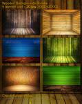 Wooden Backgrounds Bundle