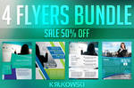 Business Flyers Posters Bundle