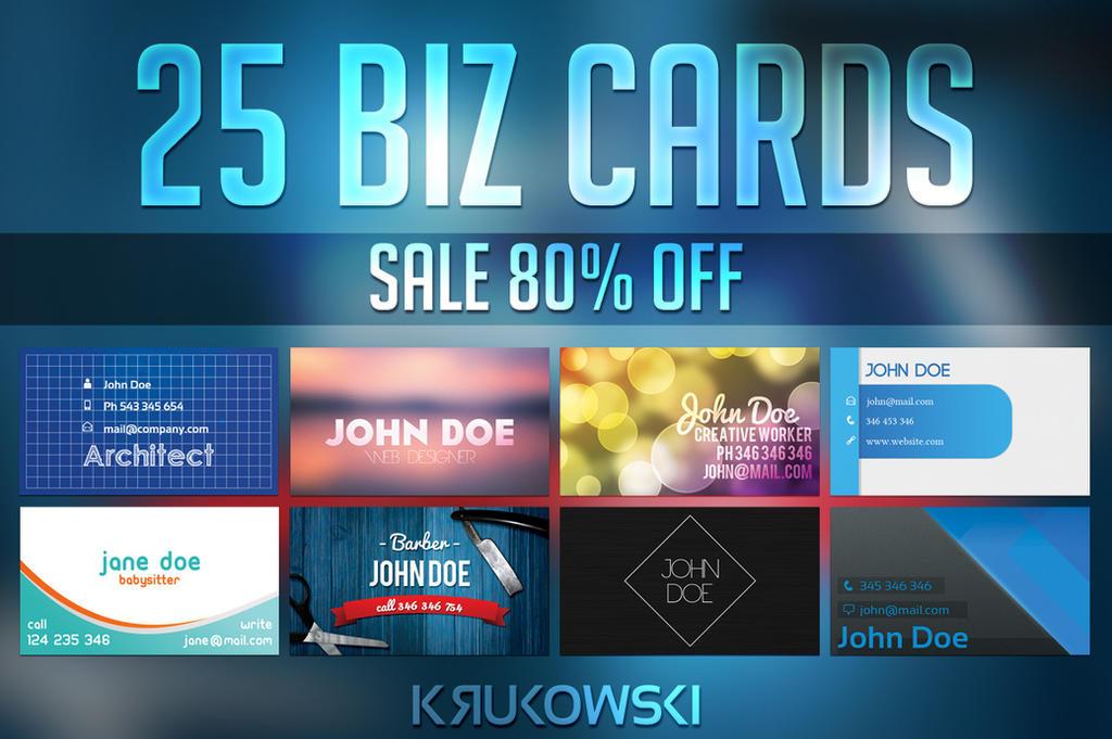 Business Card Templates Bundle by mkrukowski
