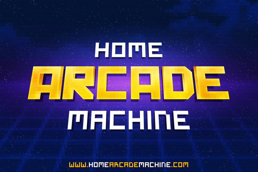 Home Arcade Machine by mkrukowski