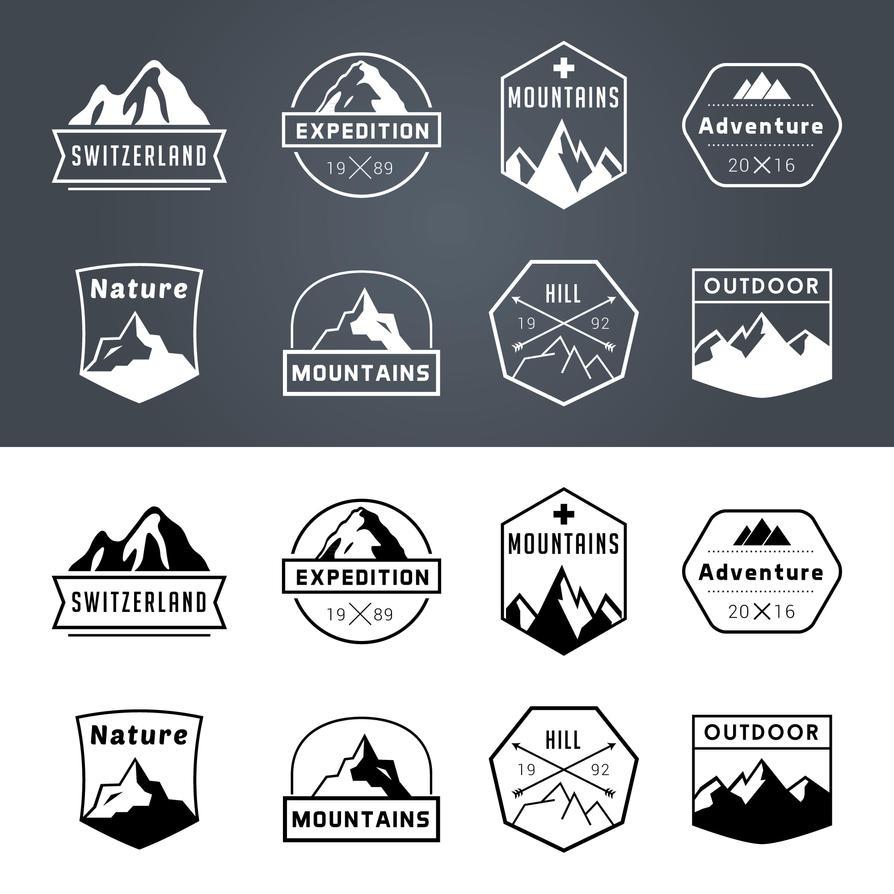 Free Adventure Badges by mkrukowski