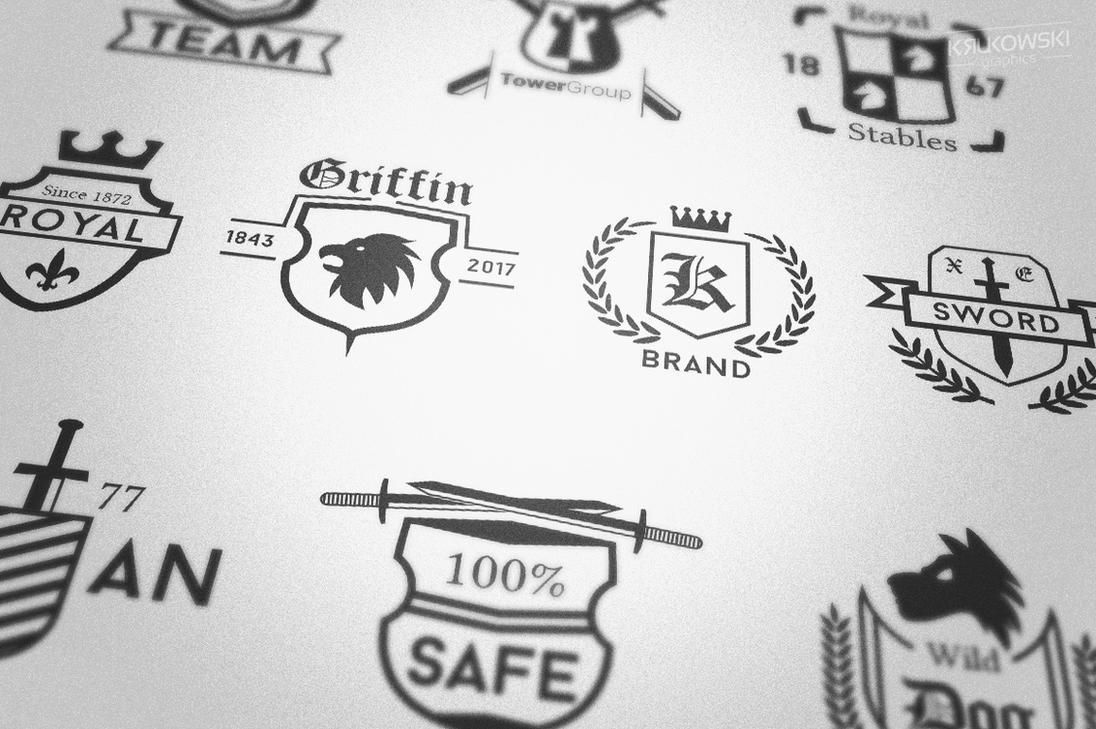 Crest like Badge Logo Templates by mkrukowski