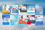 Winter Sports Flyers Templates by mkrukowski
