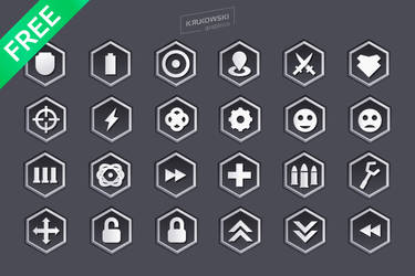 Sci-Fi Game Vector Icons