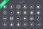 Sci-Fi Game Vector Icons by mkrukowski
