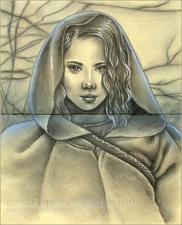 Sketchbook 09: Pilgrim by MJWilliam