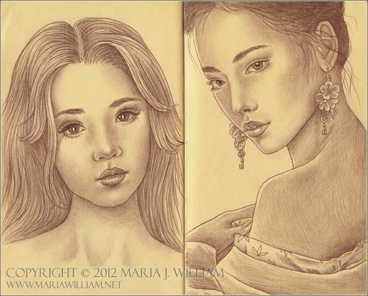 Sketchbook 22: Pure, Jaded by MJWilliam