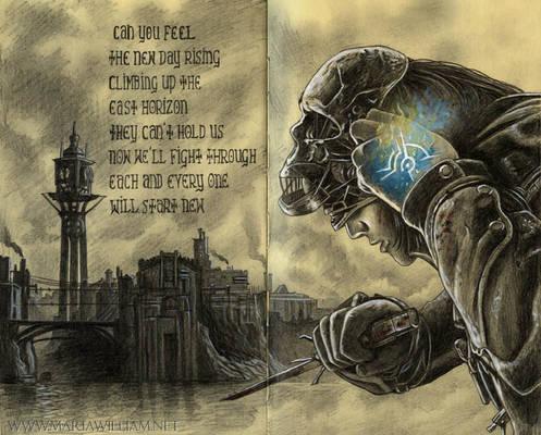 Sketchbook 40: Dishonored fanart