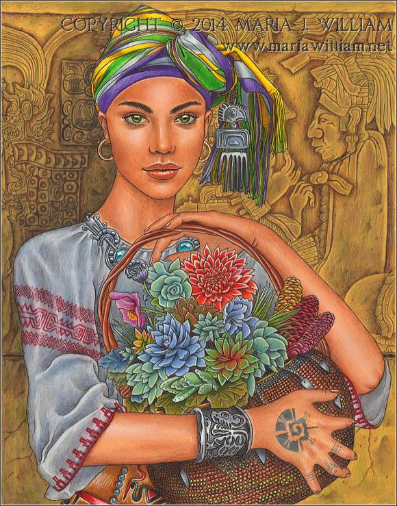 Artisans - Basket Weaver by MJWilliam