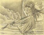 Sketchbook 42: Moonrise