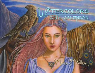Watercolors - 2016 Calendar by MJWilliam