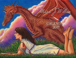 Calendar 2017 by MJWilliam