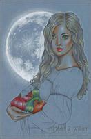 Harvest Moon - Sketch by MJWilliam