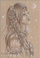 Silent Night - Sketch by MJWilliam