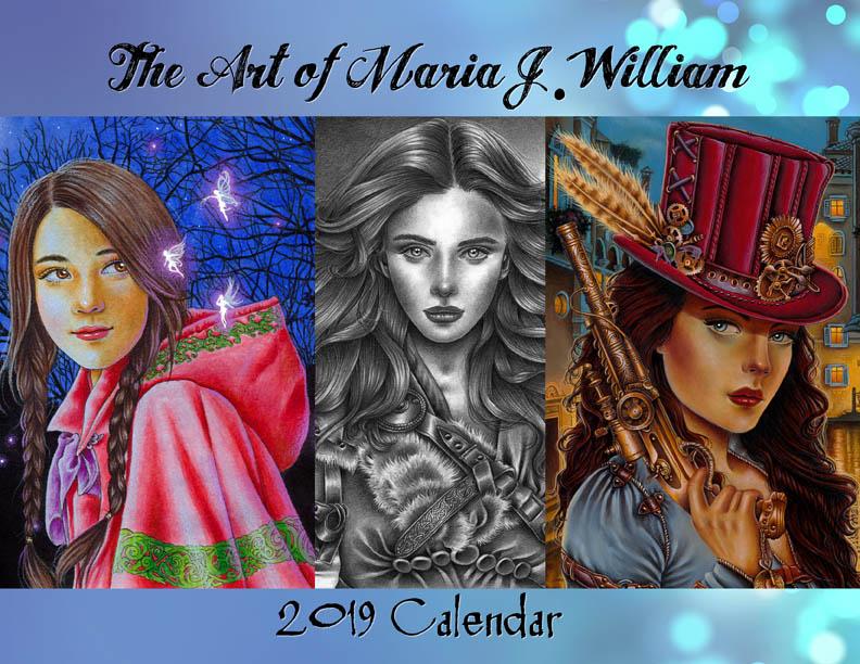 2019 calendar by MJWilliam