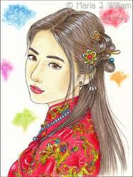 Spring Festival - sketch by MJWilliam