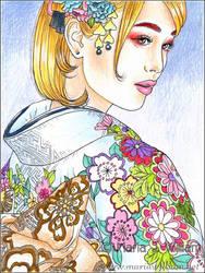 Pastel Allure - sketch by MJWilliam