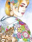 Pastel Allure - sketch