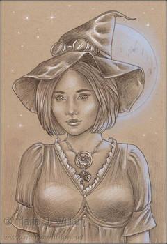 Steampunk Halloween - sketch