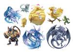 Final Fantasy VII Creature Summons