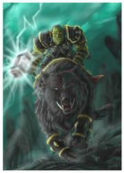 The Wrath of Thrall by JenniferTehArt