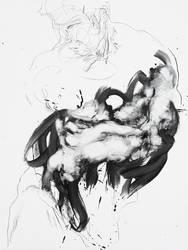 Figure With Drapery by DEREKoverfield