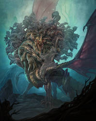 Ladon, The 100 headed dragon