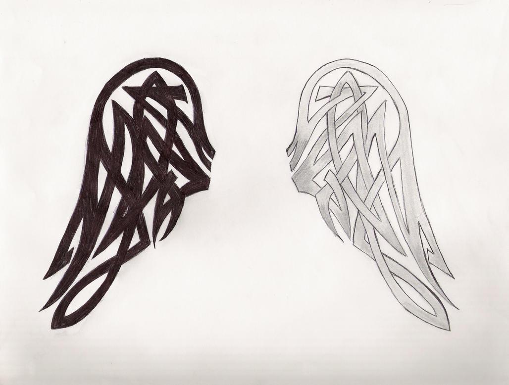 celtic wings by myspiritswell on deviantart. Black Bedroom Furniture Sets. Home Design Ideas
