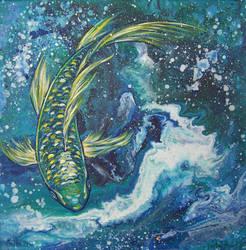 Golden Fish by PrincessNarutofan