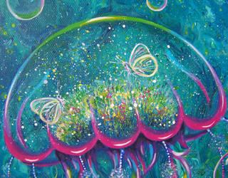 Jellyfish dream head by PrincessNarutofan