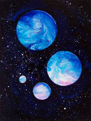 Gas giants by PrincessNarutofan