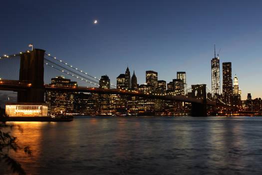 Brooklyn Bridge Night
