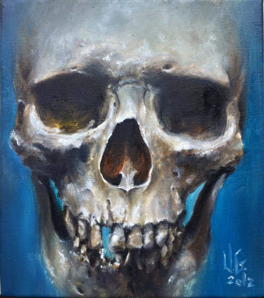 skull paint 3 by vangoghtattoo