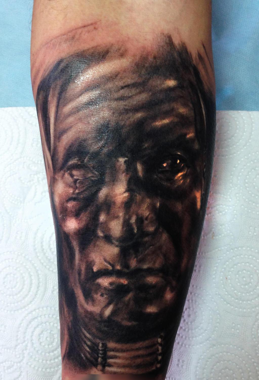 Comanche Tattoo By Vangoghtattoo On Deviantart