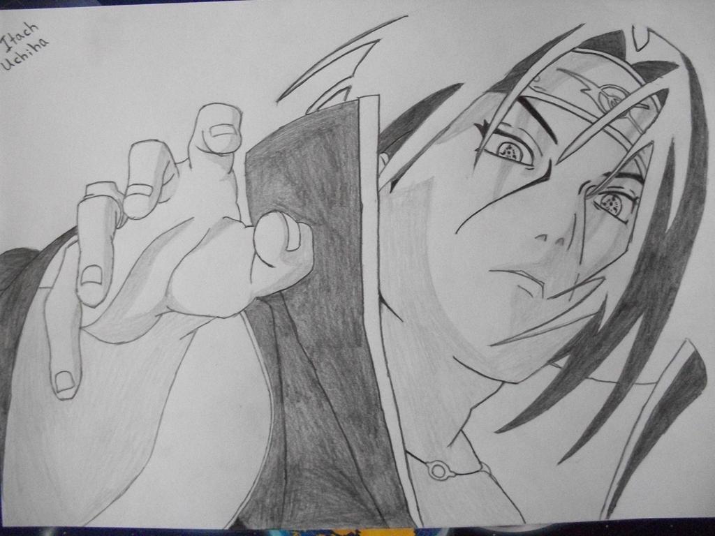 Uchiha Itachi Drawing ...
