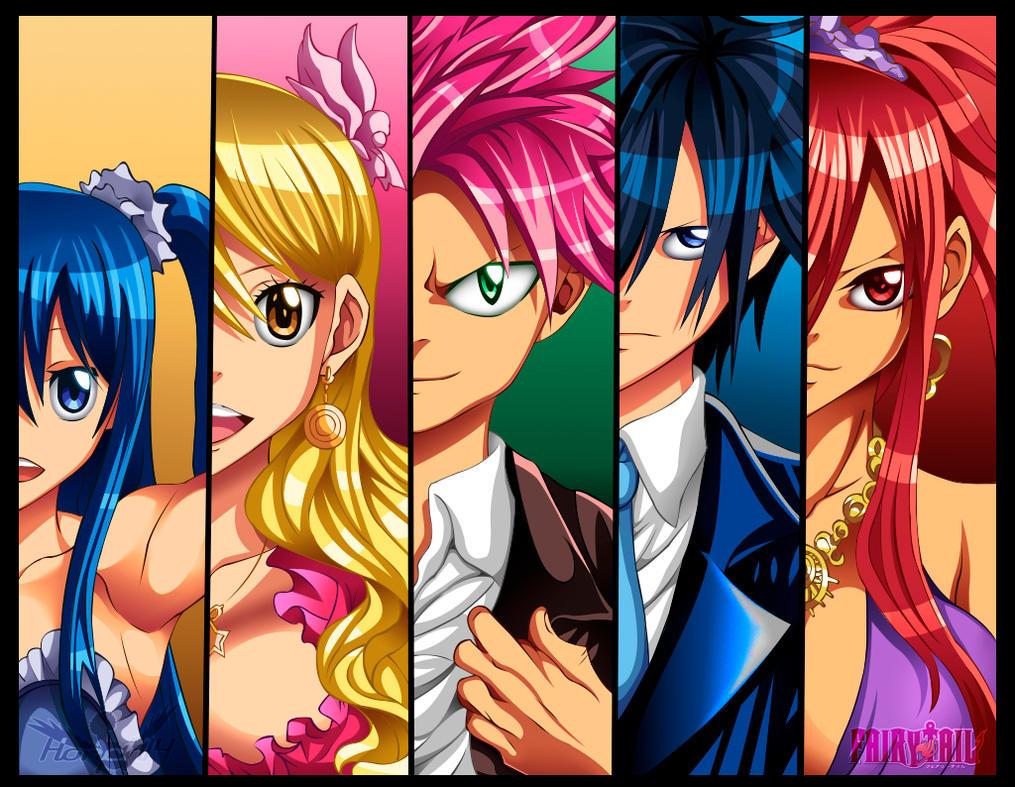 Fairy Tail!!! by honchkrow14
