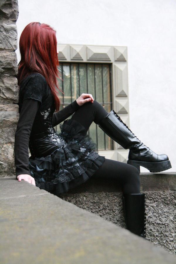 Dark Doll 08 by Gilliann