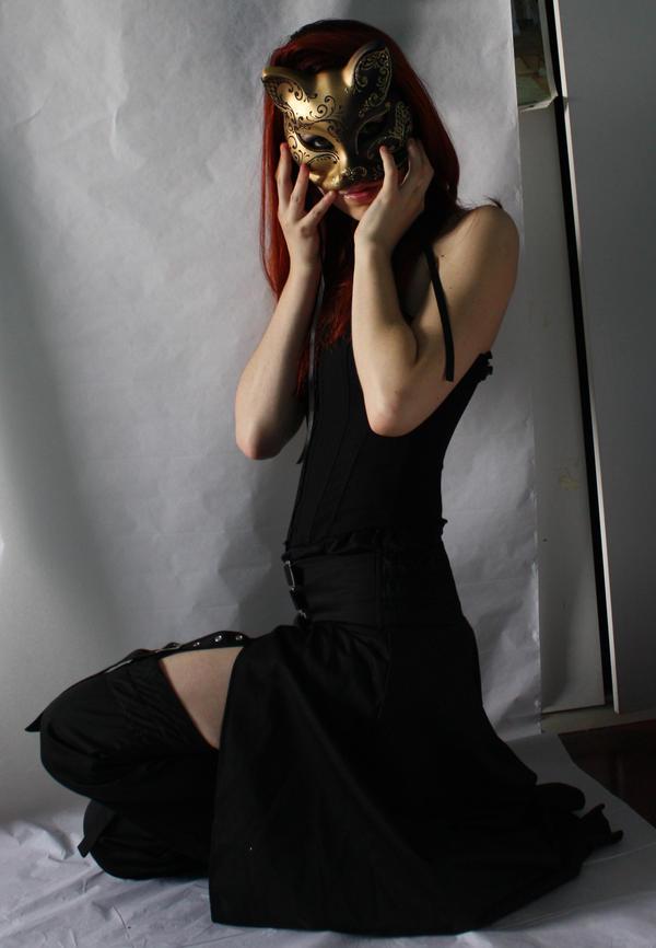 Cat Mask Stock 03 by Gilliann