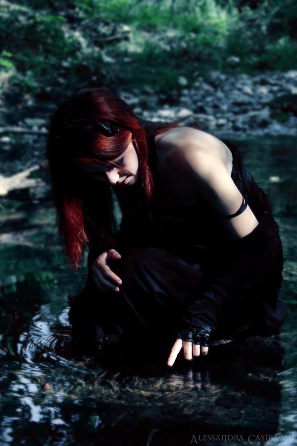 Crystal pond by Gilliann