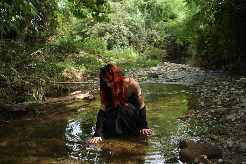 Creek Stock 02 by Gilliann